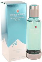 Swiss Army Mountain Water by Eau De Toilette Spray for Women (3.4 oz)