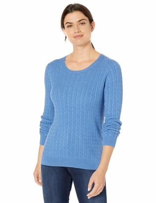 Amazon Essentials Lightweight Cable Crewneck Sweater
