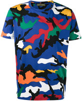 Valentino camouflage print t-shirt - men - Cotton - S