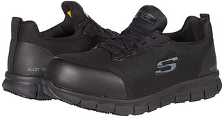 Skechers Sure Track-Irmo (Black) Women's Shoes