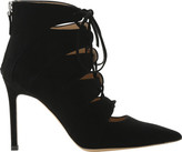 Roberto Festa Women's Moana Suede Caged Lace-Up Bootie