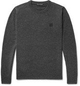 Acne Studios Nalon Wool Sweater - Charcoal