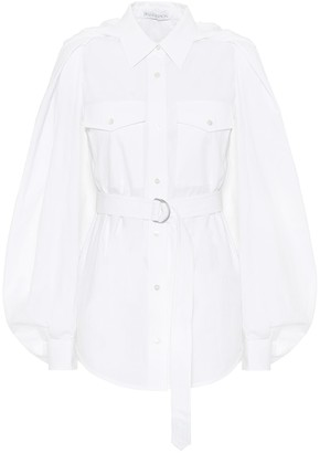 J.W.Anderson Belted cotton shirt