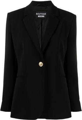 Boutique Moschino Single-Breasted Blazer