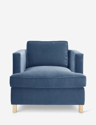 Lulu & Georgia Belmont Accent Chair, Harbor By Ginny Macdonald