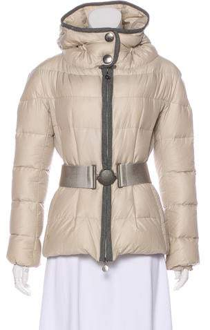 dd7f501689a Moncler Hooded Puffer Jacket - ShopStyle