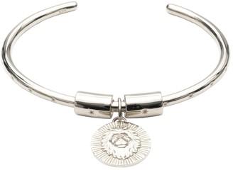 Rachel Jackson London Zodiac Art Coin Leo Star Bangle Silver