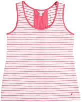 Nautica Striped Flared Tank
