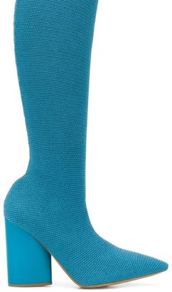 Yeezy Knee High Sock Boots