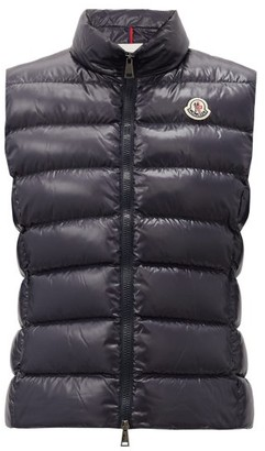 Moncler Ghany Down-filled Gilet - Navy