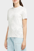 Acne Studios Taline Paisley-Print T-Shirt