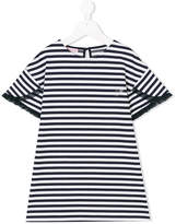 Miss Blumarine striped dress