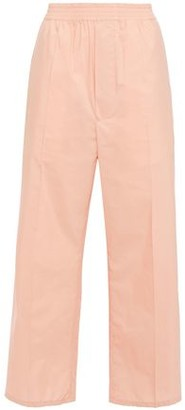 MM6 MAISON MARGIELA Cotton-blend Poplin Wide-leg Pants
