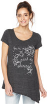 Wendy Bellissimo Maternity Graphic Tee