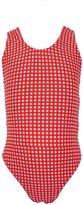 Pesci Kids Big Fisch Gingham Infant Swimsuit