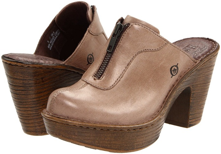 Børn Haledon (Taupe Burnished Leather) - Footwear