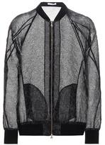 Erdem Danni Cotton-blend Jacquard Bomber Jacket