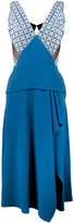 Roland Mouret Kao dress - women - Silk/Polyester/Spandex/Elastane/Viscose - 8