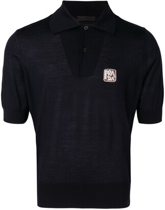Prada Small Logo Polo Shirt