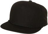 Flexfit Flex Fit Poplin Hi Crown Snapback Cap Black