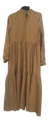 Gestuz Yellow Cotton - elasthane Dresses