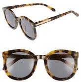 Karen Walker Women's Alternative Fit Super Duper 59Mm Sunglasses - Black