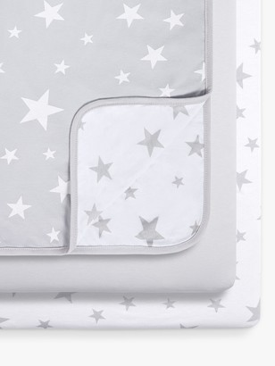 Snüz Snuz Star Crib Fitted Sheet and Blanket 3 Piece Set