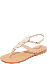 Mystique Mother of Pearl Sandals
