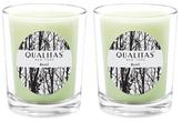 Qualitas Candles Basil Beeswax Candles (Set of 2) (6.5 OZ)