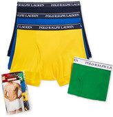 Polo Ralph Lauren Holiday Men's 4 Pack Boxer Briefs