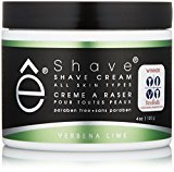 eShave Shave Cream, Verbena Lime, 4 oz.