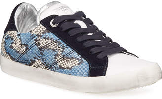Zadig & Voltaire Used Painted Wild Sneakers