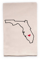 "ellembee Home ""Florida State"" Tea Towel"