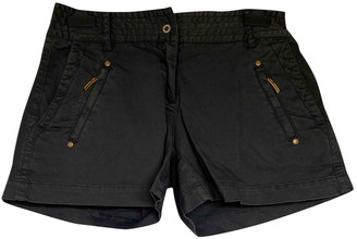 Cerruti Black Cotton Shorts for Women