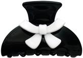 Smallflower Moliabal Milano Black + White Bow Clip