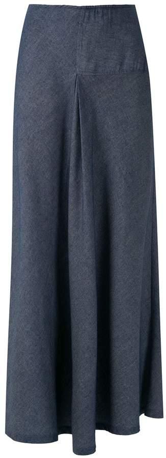 M·A·C Mara Mac ruffle maxi skirt