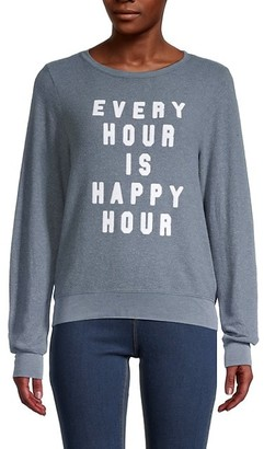 Wildfox Couture Every Hour Is Happy Hour Sweater