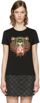 Kenzo Black Chinese New Year Tiger T-Shirt