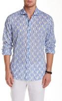 Ganesh Long Sleeve Printed Slim Fit Shirt