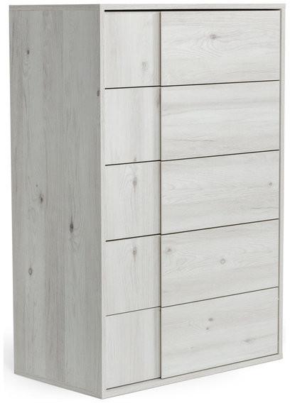 VIG Furniture Nova Domus Asus Italian Modern Chest, White Washed Oak