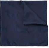 Thom Browne - Hector Silk And Cotton-blend Jacquard Pocket Square