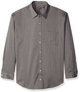Van Heusen Men's Big and Tall Long-Sleeve Traveler No-Iron Button-Front Shirt