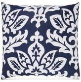 Charter Club Damask Designs Damask Designs Cotton Navy European Sham, Created for Macy's