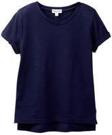 Splendid Always Short Sleeve V-Neck Tee (Little Girls)