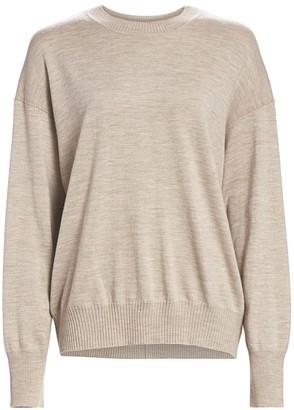St. John Extrafine Merino Wool Pullover