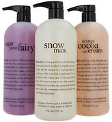 philosophy Super-Size Shower Gel Trio