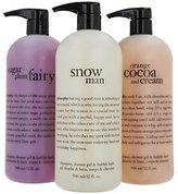 philosophy Super-Size Shower Gel Trio