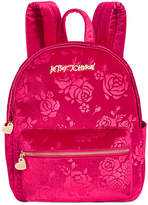 Betsey Johnson Small Rose Backpack