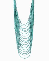 Charming charlie Ava Beaded Layer Necklace Only 1 left Name Qty Ava Beaded Layer Necklace 1 // Only 1 left in Light Turquoise!