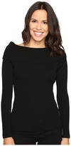 MICHAEL Michael Kors Open Cowl Rib Sweater